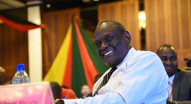 Former Jubilee Party vice chairman David Murathe