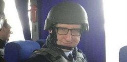 Poseł obłudnik lansuje się na Ukrainie!