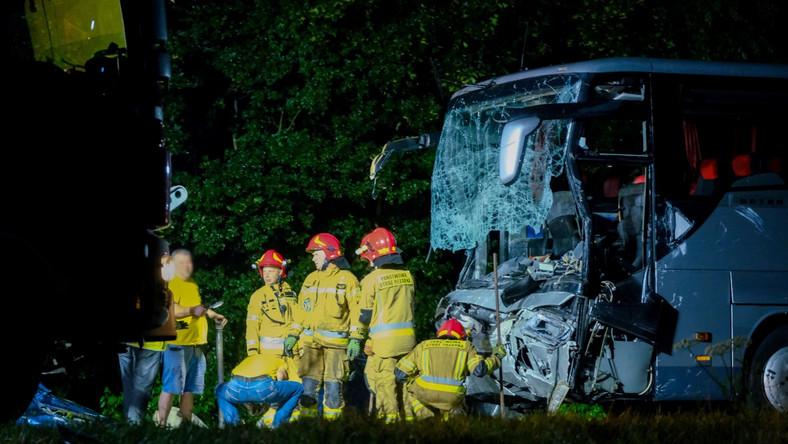 Wypadek na drodze 88