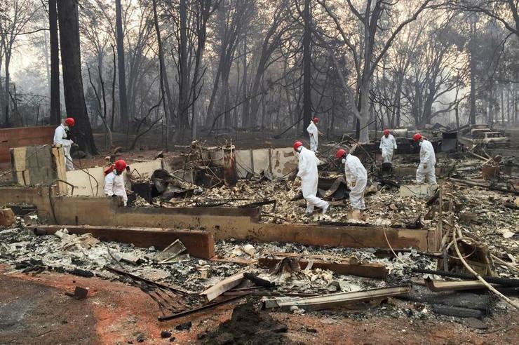 Kalifornija Malibu požar