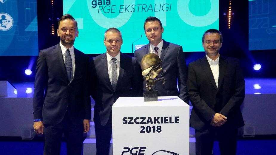 Paweł Słupski, Krzysztof Meyze, Michał Sasień, Artur Kuśmierz