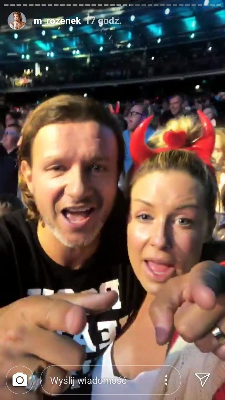 Małgorzata Rozenek- Majdan i Radek Majdan