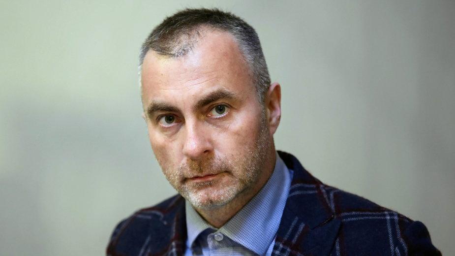 Dr Maciej Pilecki, kierownik Kliniki Psychiatrii Dzieci i Młodzieży Szpitala Uniwersyteckiego w Krakowie