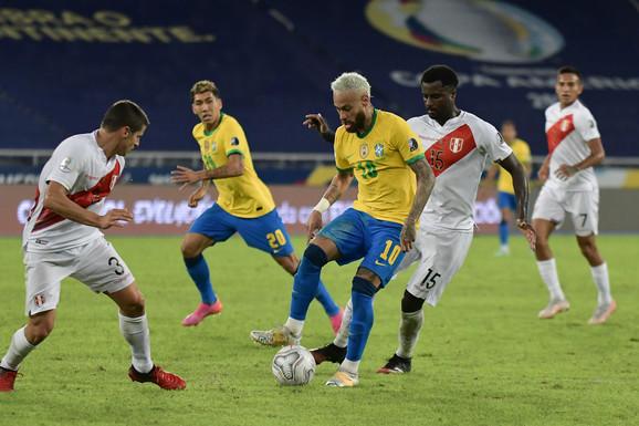 Moćni Brazil DEKLASIRAO Peru na Kopa Amerika, Nejmar novim golom SVE BLIŽE REKORDU slavnog Pelea! /VIDEO/