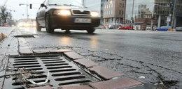 Będzie mniej pieniędzy na naprawy ulic