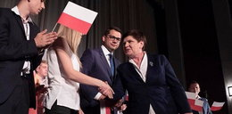 Szarpanina na spotkaniu z Beatą Szydło