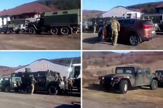Više od 45 vozila KFOR na severu, nose mašine, bagere, KOLUTOVE ŽICA: Ovo je obuka, da budemo spremni da se BRZO RASPOREDIMO po celom Kosovu (VIDEO)