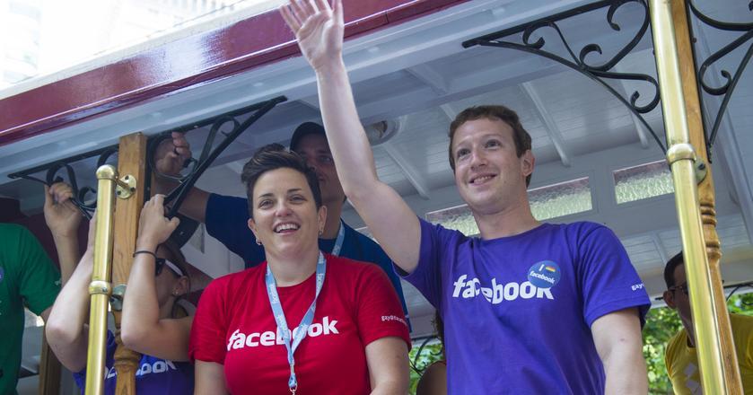 Na razie nic nie wiadomo, by Mark Zuckerberg chciał zmieniać pracę. Ale jego pracownicy zostają w firmie niezbyt długo - średnio 2 lata