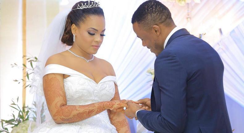 Kiba weds Amina