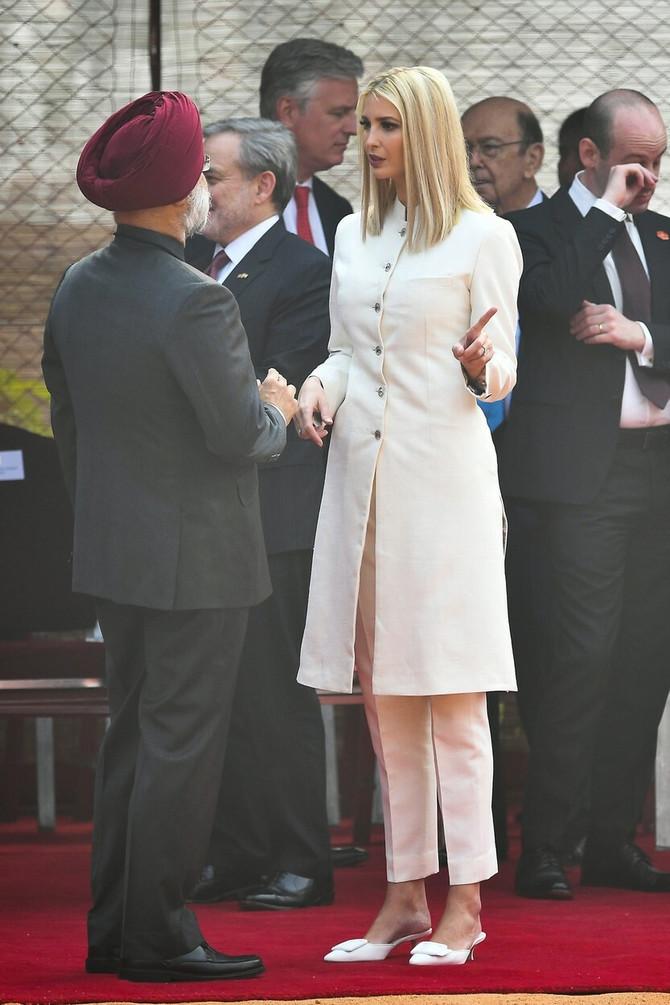 Ivanka Tramp u sedištu  Savezne vlade Indije u Nju Delhiju