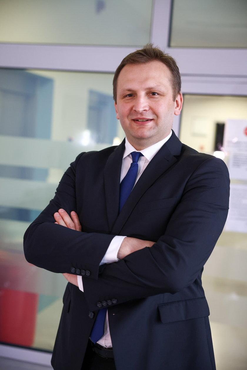 Maciej Urlig, kardiochirurg transplantolog w ŚCCHS