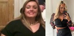 Szokująca metamorfoza! Zrzuciła 50 kg i została miss Wielkiej Brytanii