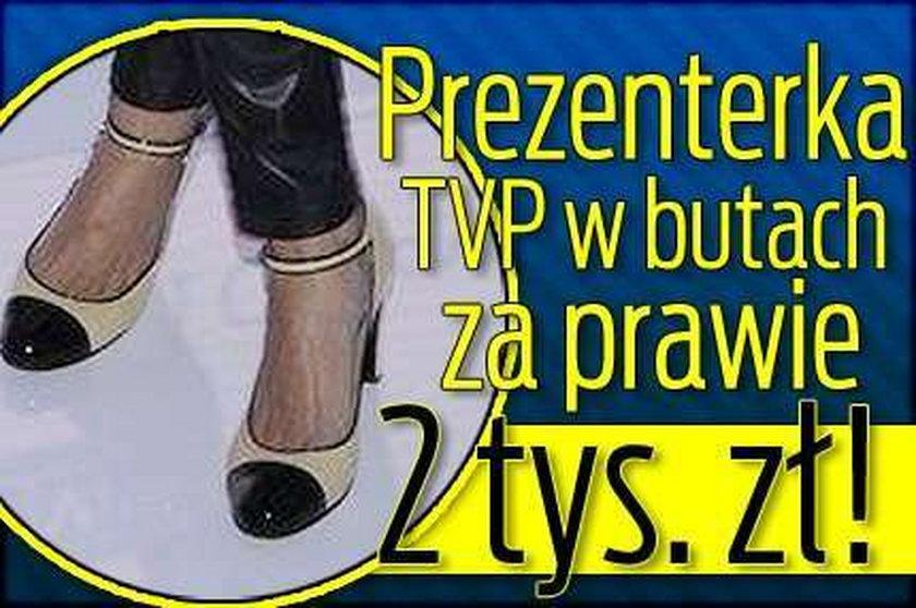Prezenterka TVP w butach za prawie 2 tys. zł!