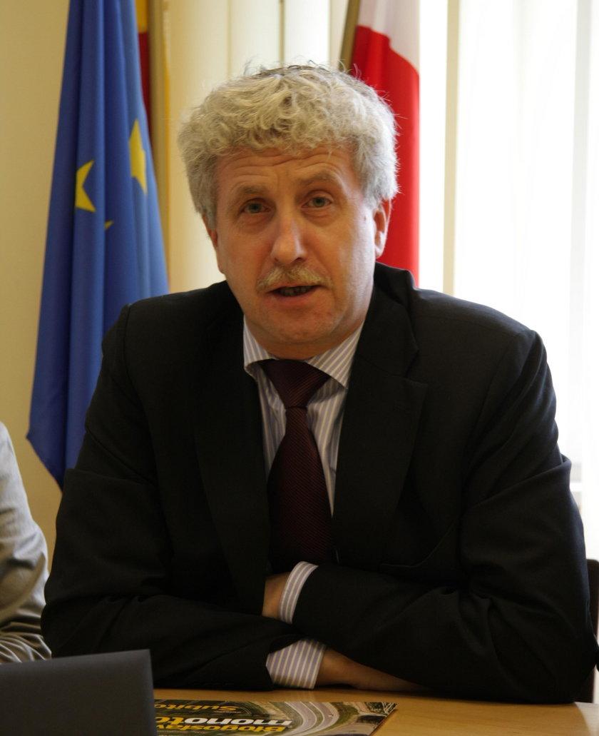Zastępca Prezydenta Warszawy Jacek Wojciechowicz