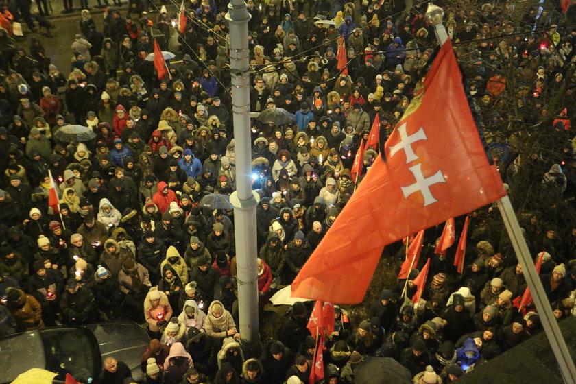 żałoba w Gdańsku