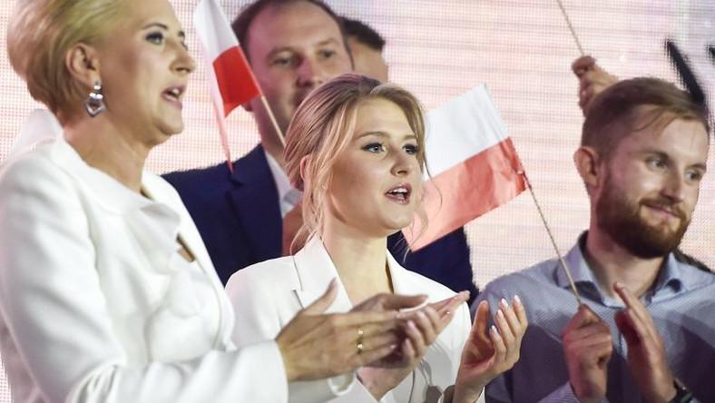 scena z: Andrzej Duda, Kinga Duda, Agata Kornhauser-Duda, SK:, , fot. Kurnikowski/AKPA