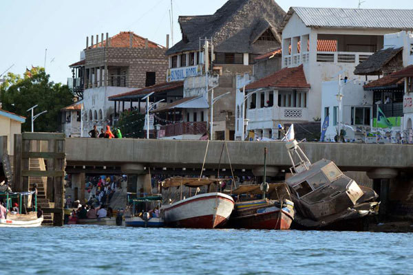 A section of Lamu town