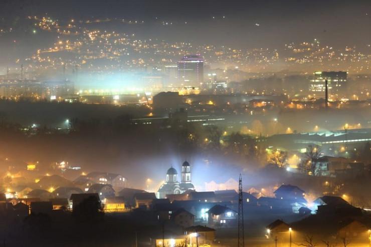 banjaluka smog magla vazduh
