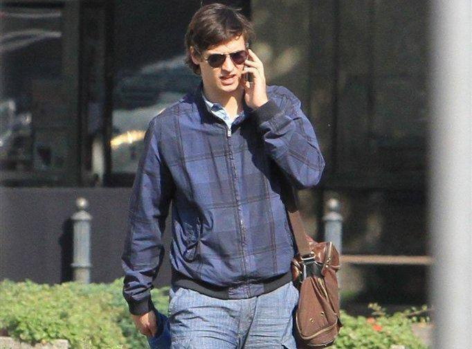 Mateusz Damięcki i jego torba