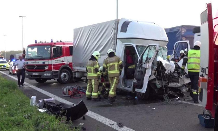 Tragiczny wypadek w Belgii. Nie żyje polski kierowca