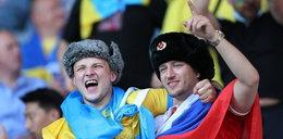 Rosjanin wśród ukraińskich kibiców. To nie mogło dobrze się skończyć
