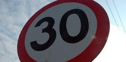 W mieście pojedziemy tylko 30km/h?