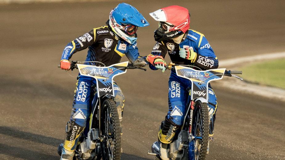 Wiktor Lampart i Wiktor Trofimow