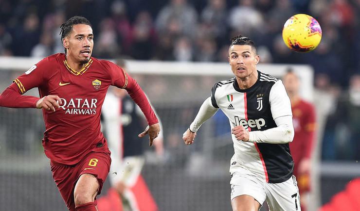 Detalj sa meča Rome i Juventusa
