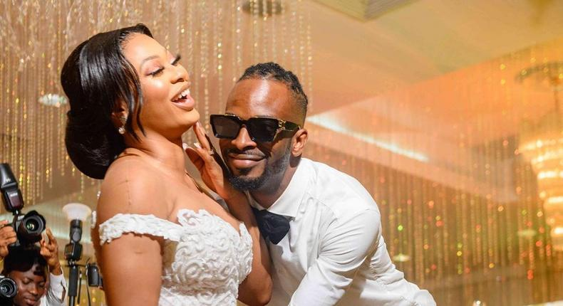Nigerian music star 9ice and his wife, Sunkanmi Akande [Instagram/AceOfOrchid]