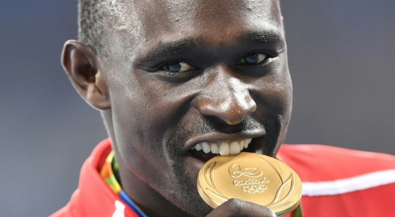 Olympic champion Rudisha out for 16 weeks after ankle fracture