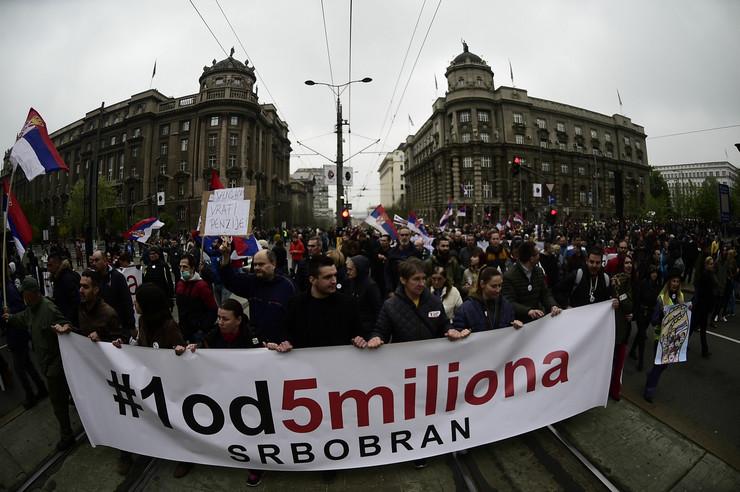1 od 5 miliona, protest