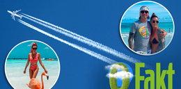 Fakt sprawdził ile dwutlenku węgla produkują nasze celebrytki w podróży. Rajskie wakacje trują planetę