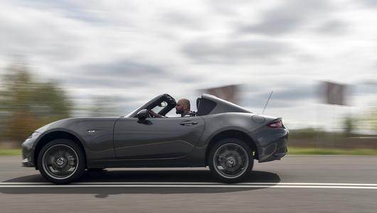 Mazda MX-5 RF – budżetowa Targa | TEST