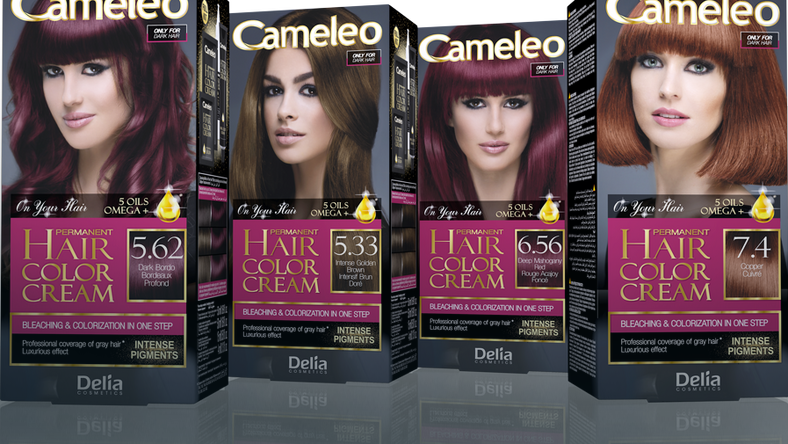 Delia Cameleo Permanent Hair Color Cream