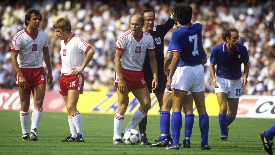 Polska – Włochy 1982