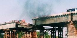 Fatum nad Warszawą. Znów pożar na Moście Łazienkowskim!
