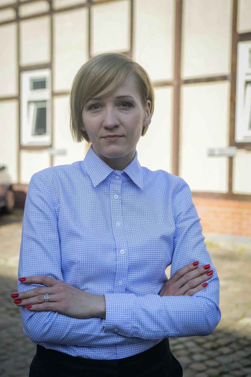 Magdalena Kiljan z Gdańskiego Zarządu Dróg i Zieleni