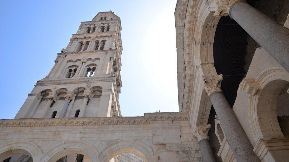 Katedra w Splicie, Chorwacja