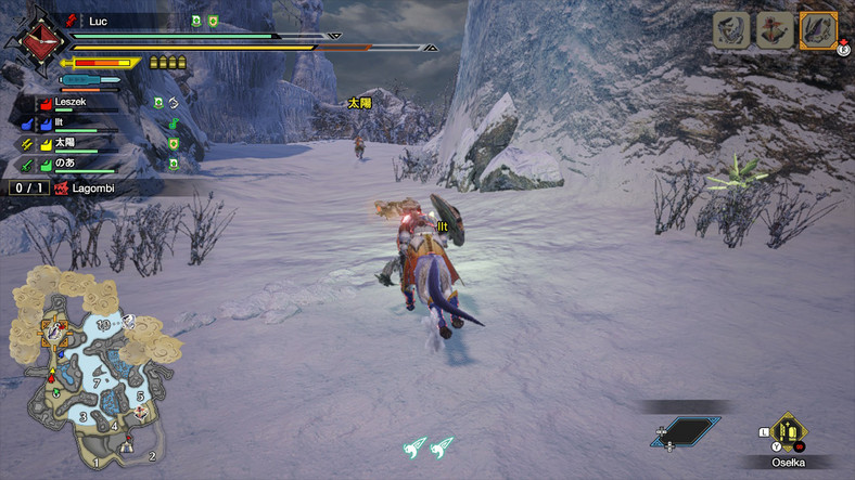 Monster Hunter Rise - screenshot z gry (wersja na Nintendo Switch)