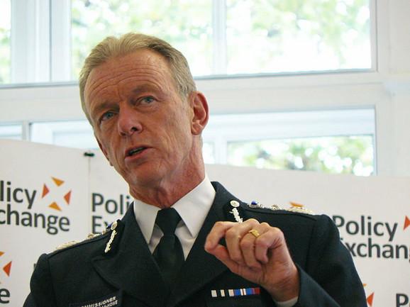 Bernard Hogan Hou, šef londonske policije: Pojava izaziva zabrinutost