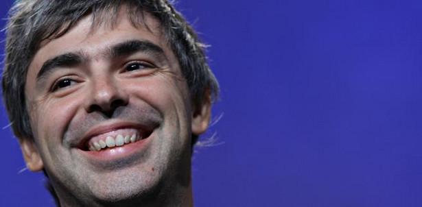 Larry Page, współzałożyciel i prezes Google Inc.