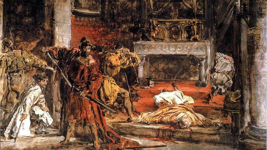 Zabójstwo biskupa Stanisława (obraz Jana Matejki)