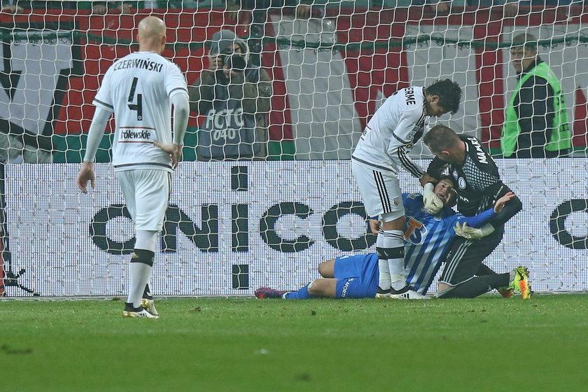 Bramkarz Legii został ukarany po meczu z Lechem