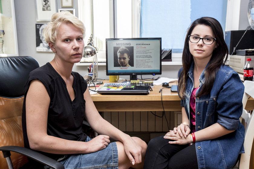 Kasia Piątek (po prawej) i Agnieszka Skowrońska