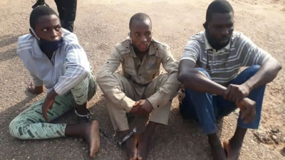 #EndSARS: Suspected hoodlums narrate how they sold 2 policemen's skulls for N1000 in Ibadan