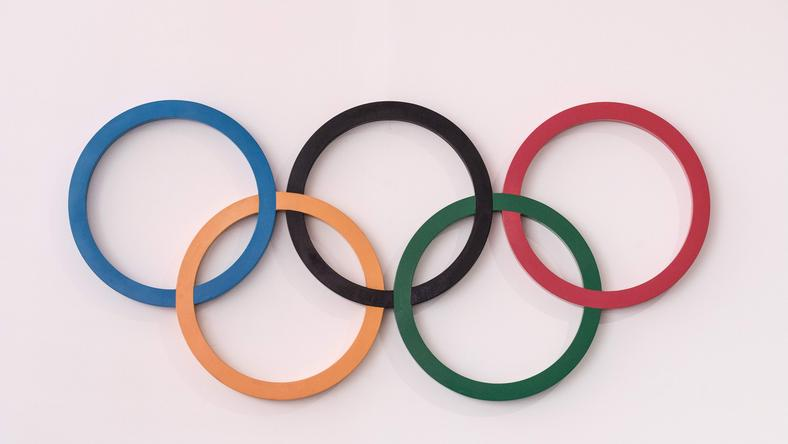 Logo igrzysk olimpijskich