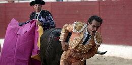 Byk przebił serce matadora!