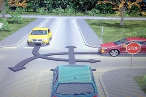 Ovo je NAJTEŽE PITANJE na vozačkom ispitu, a pogrešan odgovor u saobraćaju može da bude i FATALAN