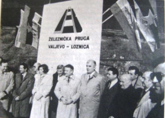 GRADILIŠTE:Premijer Dragutin Zelenović na početku radova po treći put 1990.godine