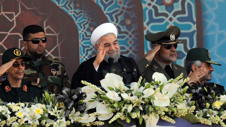 Prezydent Iranu Hasan Rowhan